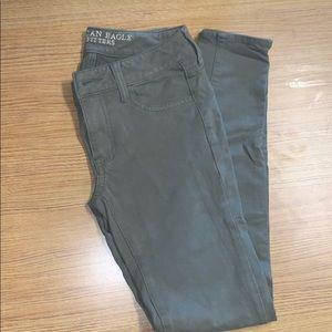 American Eagle Green pants